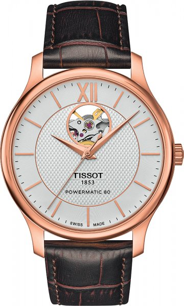 Tissot T063.907.36.038.00 Tradition TRADITION POWERMATIC 80 OPEN HEART