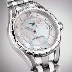 Zegarek damski Tissot lady T072.207.11.116.00 - duże 4