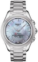 Zegarek damski Tissot t-touch lady solar T075.220.11.101.00 - duże 1