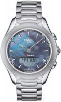 Zegarek damski Tissot t-touch lady solar T075.220.11.101.01 - duże 1