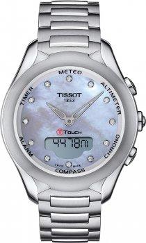 zegarek damski Tissot T075.220.11.106.00