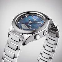 Zegarek damski Tissot t-touch lady solar T075.220.11.106.01 - duże 3