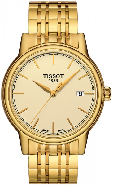 Zegarek męski Tissot carson T085.410.33.021.00 - duże 1
