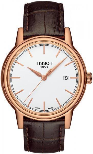 Zegarek męski Tissot carson T085.410.36.011.00 - duże 1