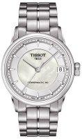 Zegarek damski Tissot luxury T086.207.11.111.00 - duże 1