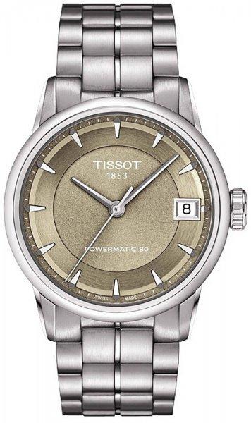 Tissot T086.207.11.301.00 Luxury LUXURY POWERMATIC 80 LADY