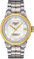 Zegarek damski Tissot luxury T086.208.22.116.00 - duże 1