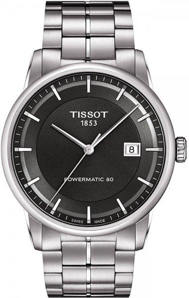 Tissot T086.407.11.061.00 Luxury LUXURY POWERMATIC 80