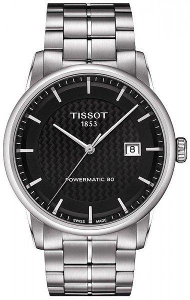 Tissot T086.407.11.201.02 Luxury LUXURY POWERMATIC 80