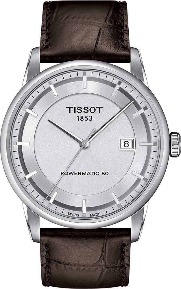 Tissot T086.407.16.031.00 Luxury LUXURY POWERMATIC 80