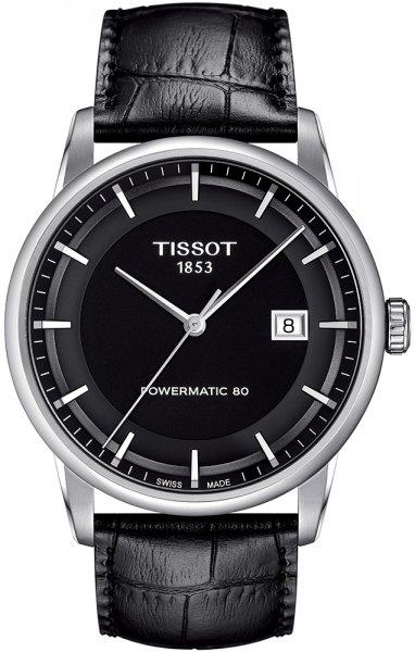 Zegarek Tissot LUXURY POWERMATIC 80 - męski  - duże 3