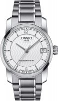 Zegarek damski Tissot titanium T087.207.44.037.00 - duże 1