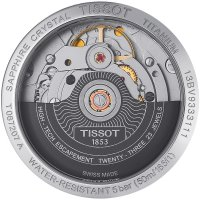 Zegarek damski Tissot titanium T087.207.44.057.00 - duże 2