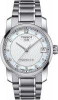 Zegarek damski Tissot titanium T087.207.44.116.00 - duże 1