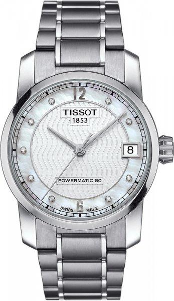 Zegarek Tissot T087.207.44.116.00 - duże 1