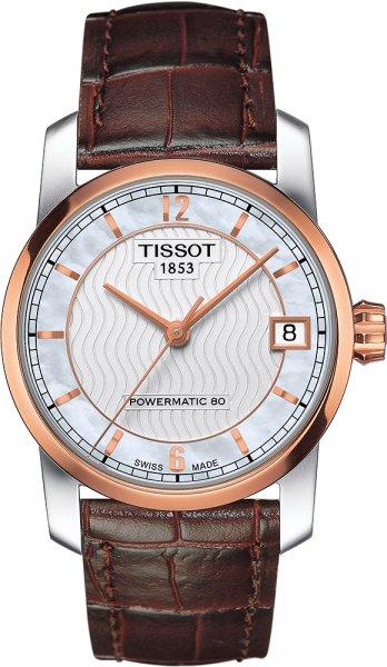 Zegarek damski Tissot titanium T087.207.56.117.00 - duże 1