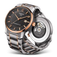 Zegarek męski Tissot titanium T087.407.55.067.00 - duże 3