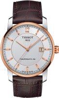 Zegarek męski Tissot titanium T087.407.56.037.00 - duże 1