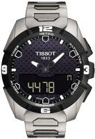 Zegarek męski Tissot t-touch expert solar T091.420.44.051.00 - duże 1