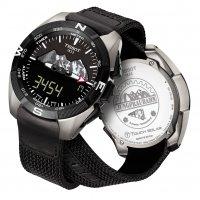 Zegarek męski Tissot t-touch expert solar T091.420.46.051.10 - duże 2