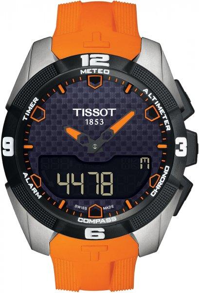 Zegarek męski Tissot t-touch expert solar T091.420.47.051.01 - duże 3