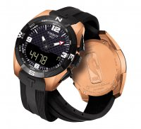 Zegarek męski Tissot t-touch expert solar T091.420.47.207.00 - duże 2