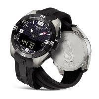 Zegarek męski Tissot t-touch expert solar T091.420.47.207.01 - duże 2