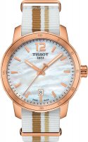 Zegarek damski Tissot quickster T095.410.37.117.00 - duże 1
