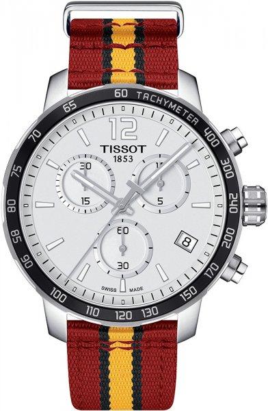 Zegarek męski Tissot quickster T095.417.17.037.08 - duże 1
