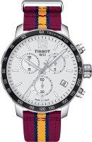 Zegarek męski Tissot quickster T095.417.17.037.13 - duże 1