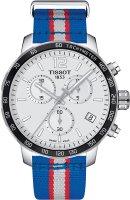 Zegarek męski Tissot quickster T095.417.17.037.22 - duże 1