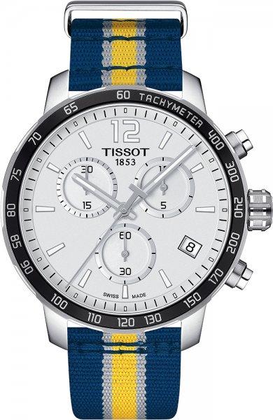 Zegarek męski Tissot quickster T095.417.17.037.23 - duże 1