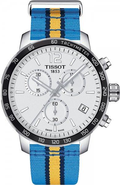 Zegarek męski Tissot quickster T095.417.17.037.25 - duże 1