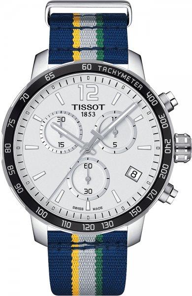 Zegarek męski Tissot quickster T095.417.17.037.28 - duże 1