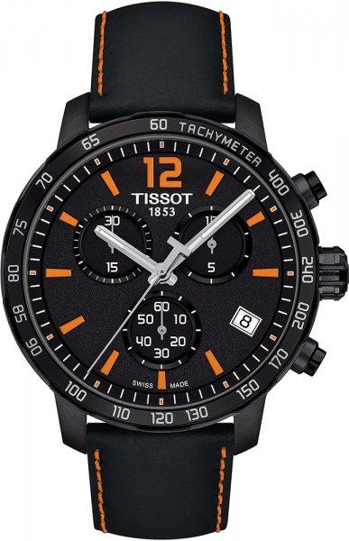 Zegarek męski Tissot quickster T095.417.36.057.00 - duże 1