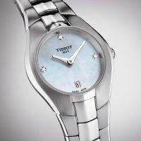 Zegarek damski Tissot t-round T096.009.11.116.00 - duże 2