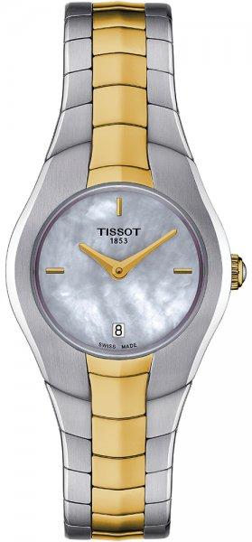 Zegarek damski Tissot t-round T096.009.22.111.00 - duże 1