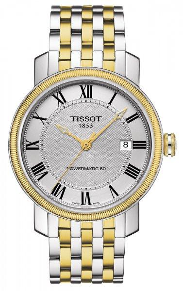 Zegarek męski Tissot bridgeport T097.407.22.033.00 - duże 1