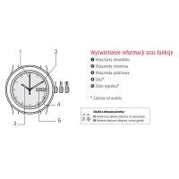Zegarek męski Tissot gentleman T098.407.26.052.00 - duże 3