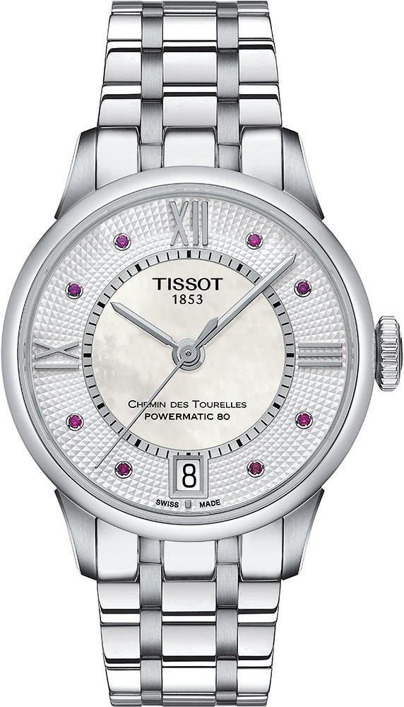 Tissot T099.207.11.113.00 Chemin des Tourelles CHEMIN DES TOURELLES POWERMATIC 80 LADY