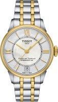 Zegarek damski Tissot chemin des tourelles T099.207.22.118.00 - duże 1