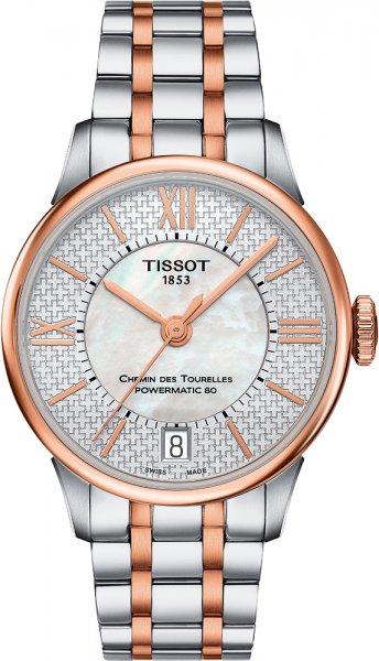 Tissot T099.207.22.118.01 Chemin des Tourelles CHEMIN DES TOURELLES POWERMATIC 80 HELVETIC PRIDE LADY