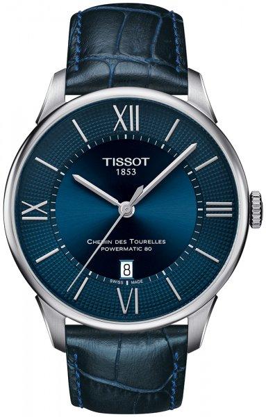 Zegarek męski Tissot chemin des tourelles T099.407.16.048.00 - duże 1