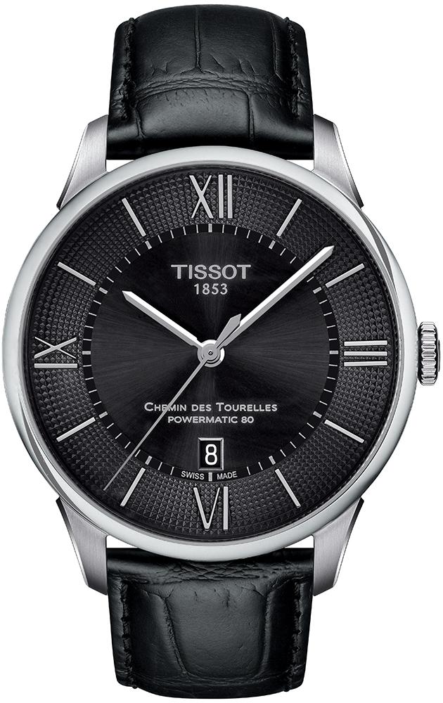 Tissot T099.407.16.058.00 Chemin des Tourelles CHEMIN DES TOURELLES POWERMATIC 80