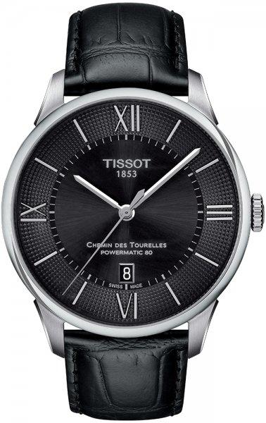 Zegarek męski Tissot chemin des tourelles T099.407.16.058.00 - duże 1