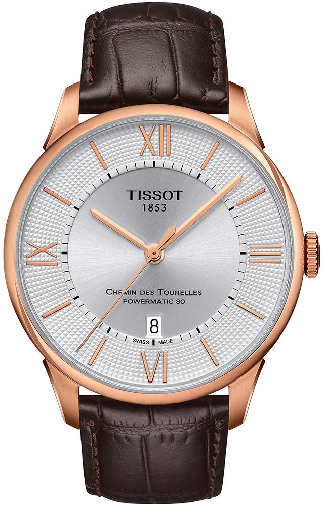 Tissot T099.407.36.038.00 Chemin des Tourelles CHEMIN DES TOURELLES POWERMATIC 80