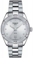 Zegarek damski Tissot pr 100 T101.910.11.036.00 - duże 1