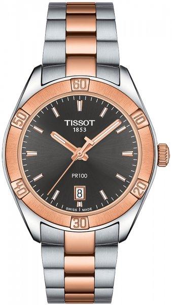 Zegarek Tissot PR 100 LADY - damski  - duże 3