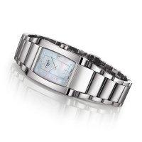 Zegarek damski Tissot generosi-t T105.309.11.116.00 - duże 2