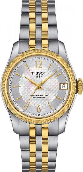 Zegarek damski Tissot ballade T108.208.22.117.00 - duże 1